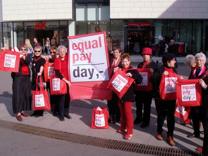 Equal Pay Day in Waiblingen Postplatzforum